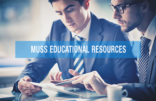 MUSS EDUCATIONAL RESOURCES